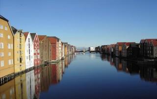 Trondheim, Norwegen, ©Perlblau