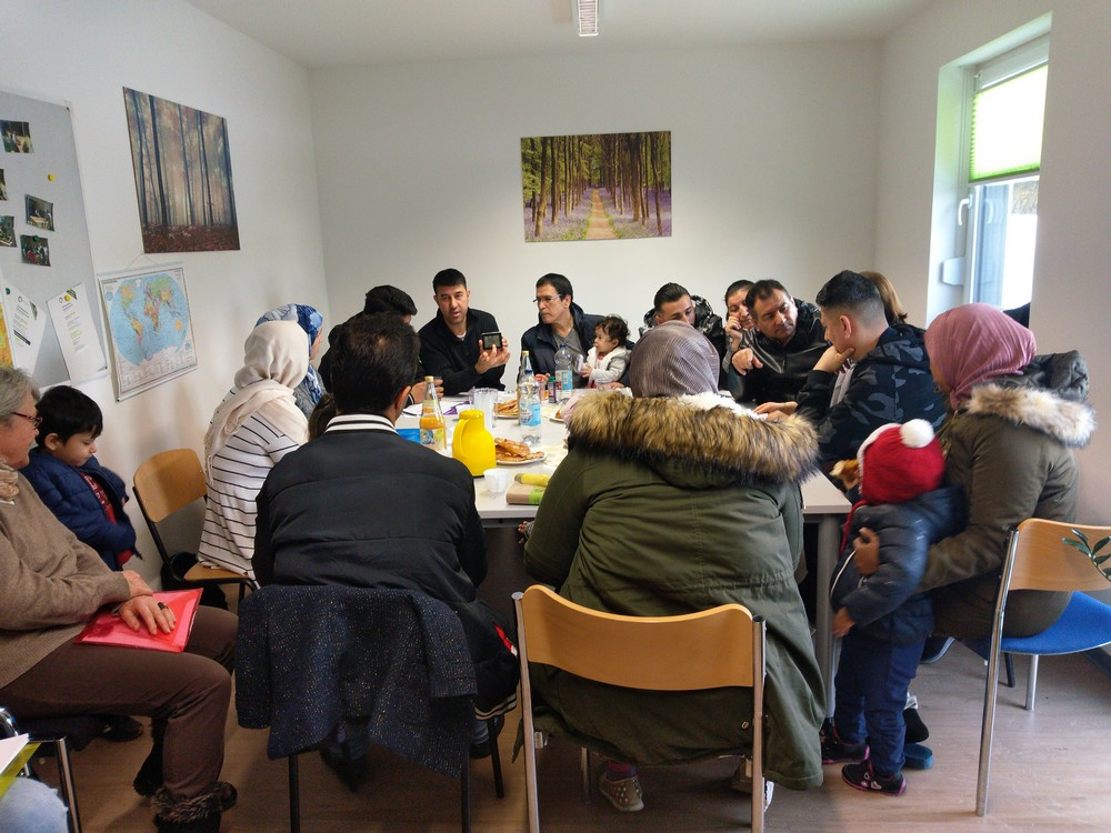 Ms Tone Østvang from Malvik Municipality welcomes us and presents an overview of the development of Malvik Path (Photo: Matluba Khan)